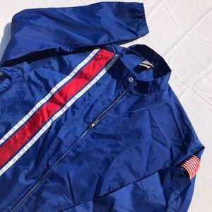 Vintage 90's Color Block Windbreaker Jacket